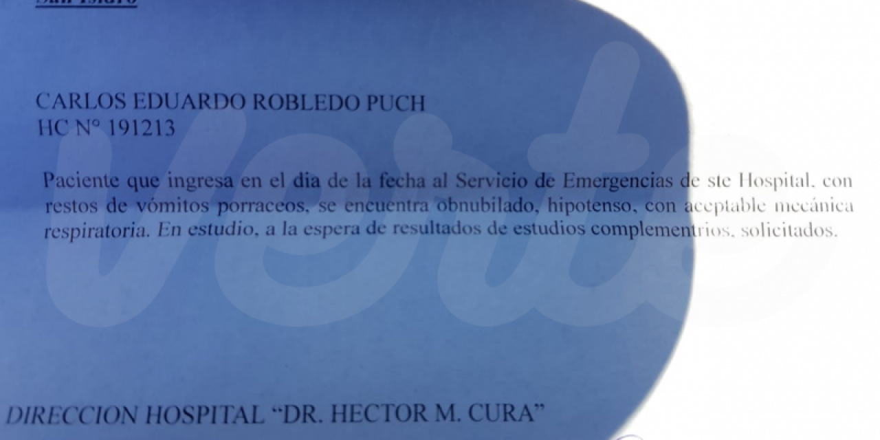 Robledo Puch sigue internado tras otro intento de suicidio