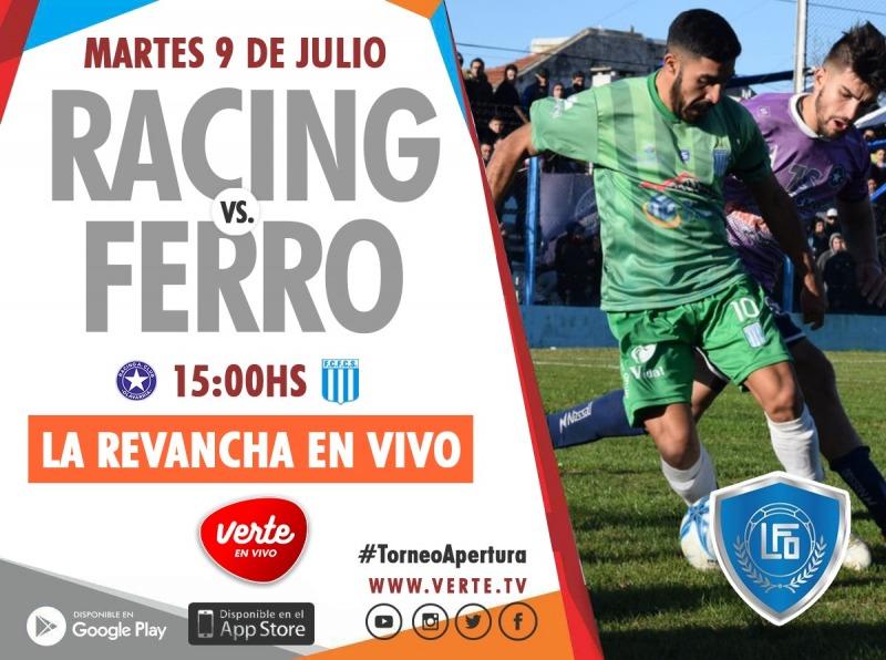 Fútbol en vivo: Racing y Ferro van por la revancha :: Canal Verte